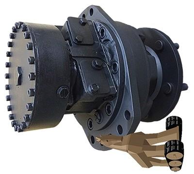 Kubota KX040-4 Hydraulic Final Drive Motor